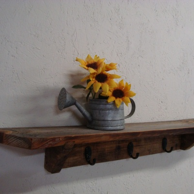 barn board rack