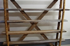 log shelf