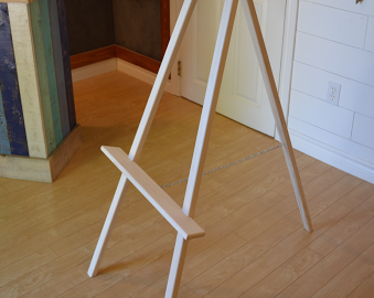 Easel for a Wedding