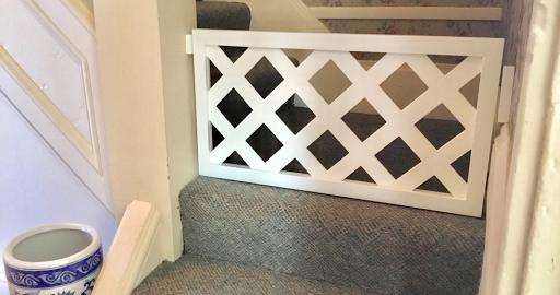 Building a Dog Gate on the Stairs